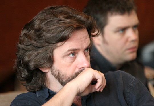 The director Gregory Doran watching intently