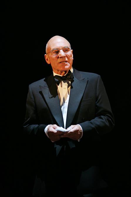 Patrick Stewart as Claudius  in Gregory Doran's 2008 production of Hamlet