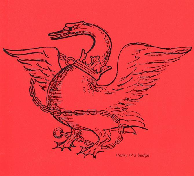 Bosun swan badge of Henry IV