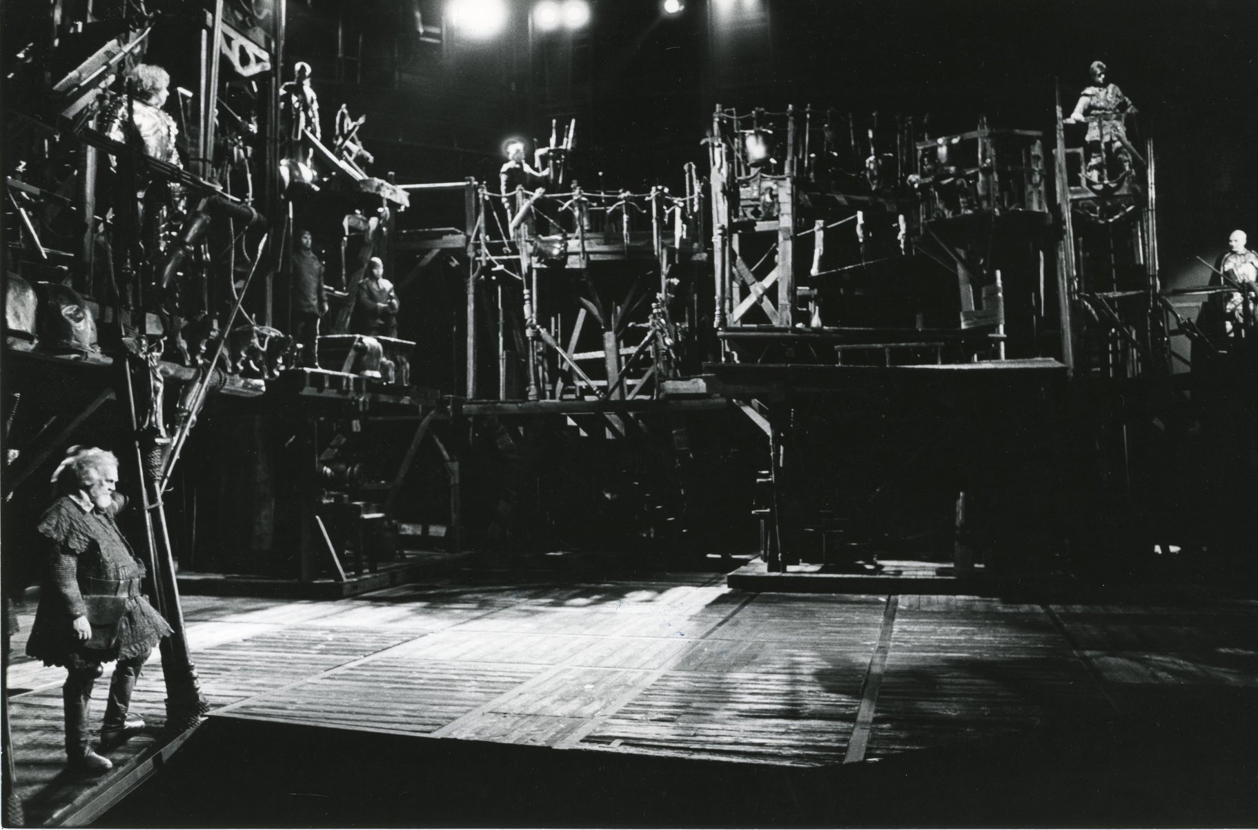 'Les Misérables' al Barbican, l'any 1985.