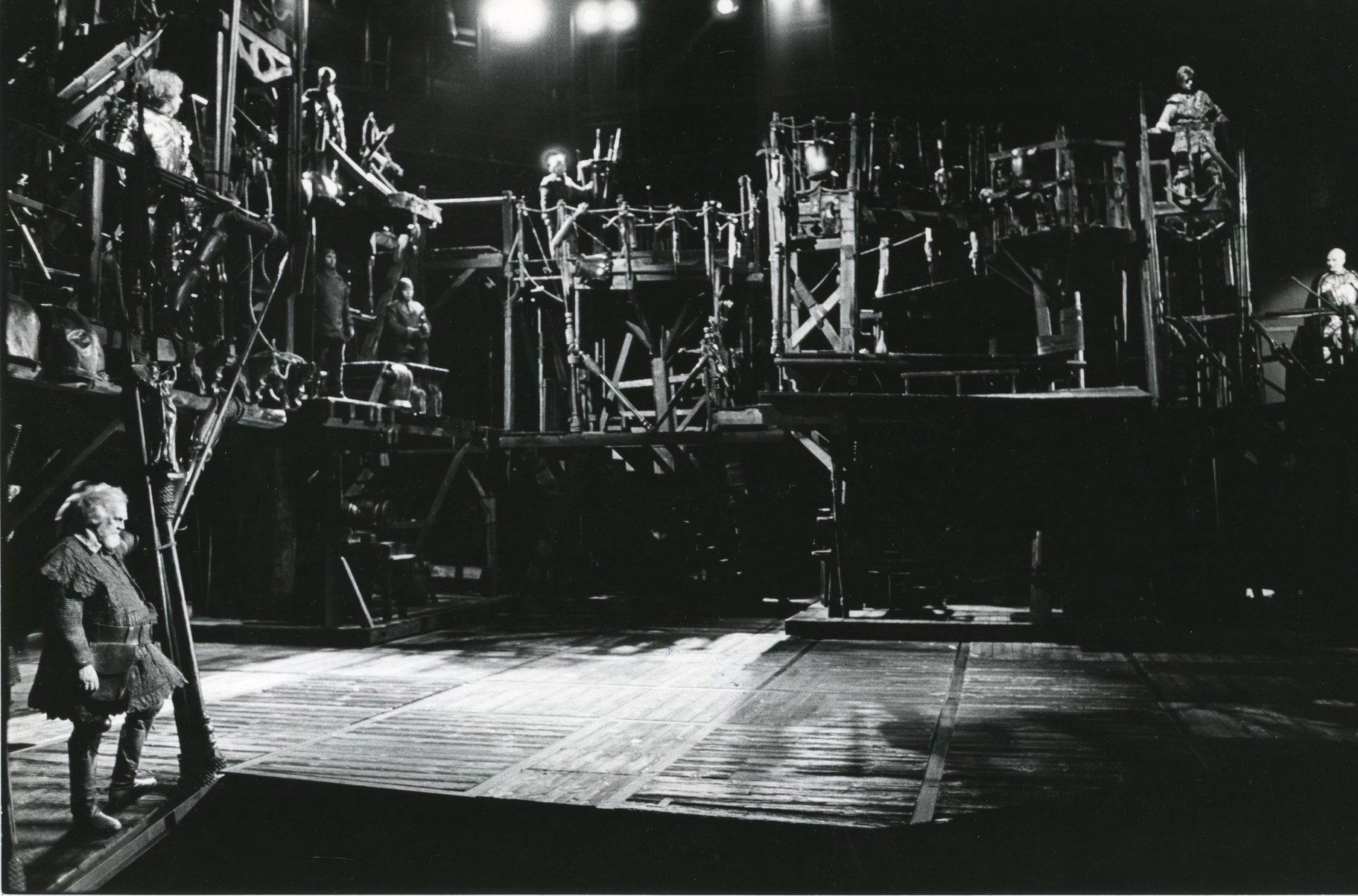 'Les Misérables' al Barbican, l'any 1985.
