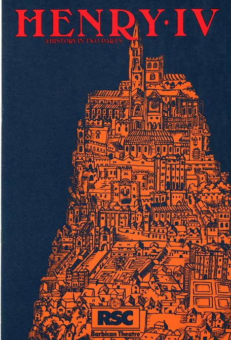Henry IV Part 1 1982 programme Barbican Theatre