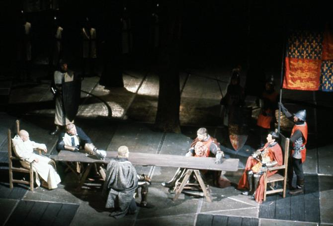 The rebels plot in Henry IV Part II 1964