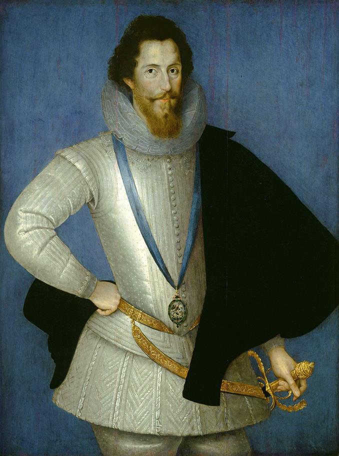 A portrait of Robert Devereux, 2nd Earl of Essex.