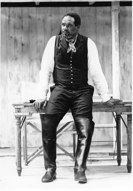Willard White as Othello in Trevor Nunn's 1989 production