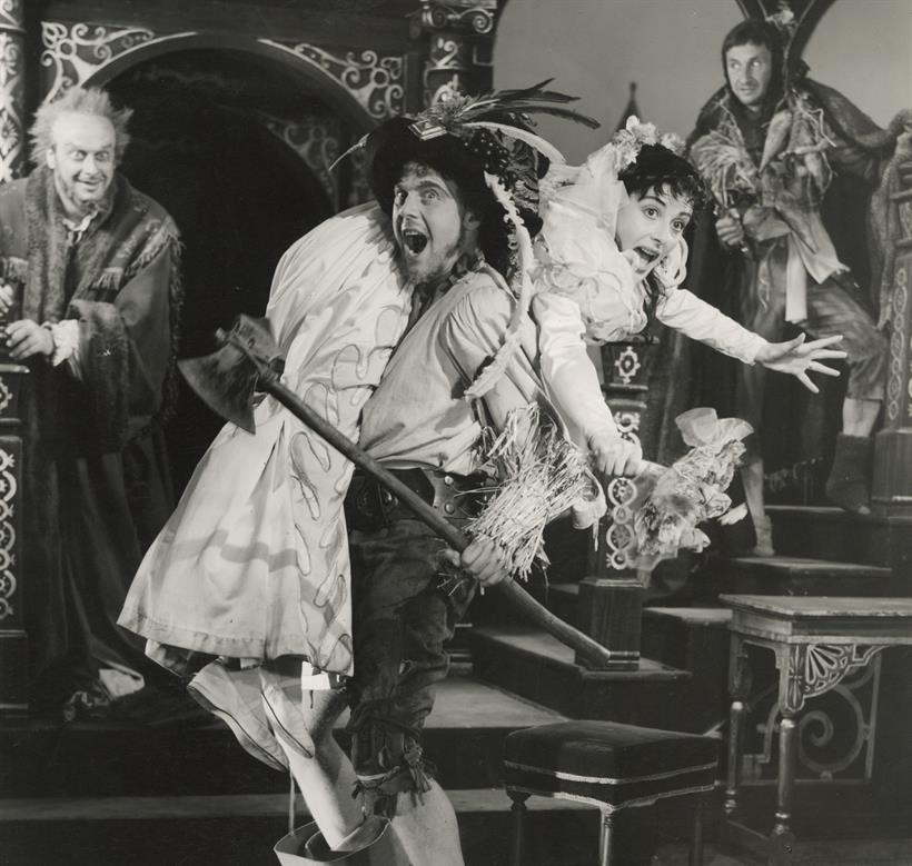 taming of the shrew comedy