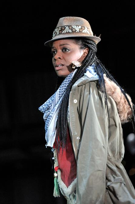 Kiza Deen as Second Forest Lord in As You Like It.