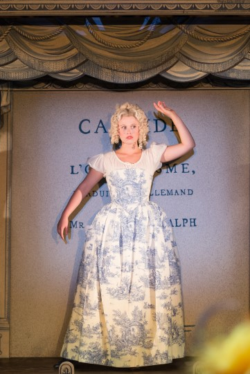 Rose Reynolds as Cunegonde in Candide.