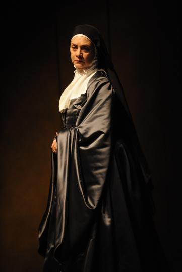 Diana Kent as Mother Marguerita, in long robes