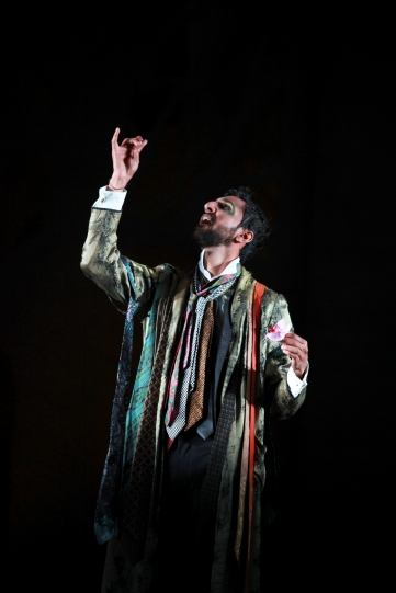 Production image of Arsher Ali as Puck.