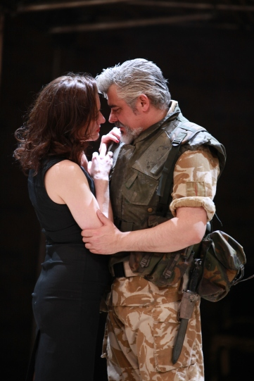 Production images from 2013 for Michael Boyd's Antony and Cleopatra