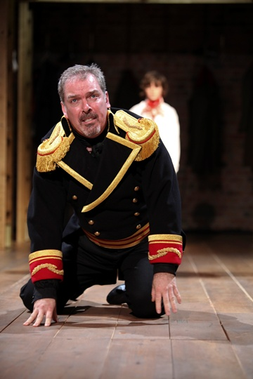 Lloyd Hutchinson as Boris Godunov