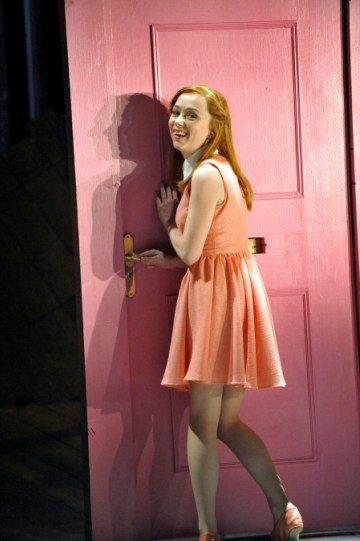 Emily Taaffe as Luciana in The Comedy of Errors