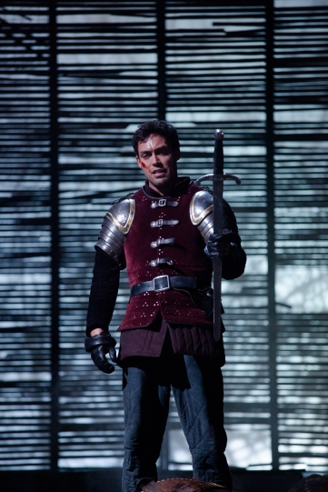 Alex Hassell as Prince Hal in Henry IV Part I 2014