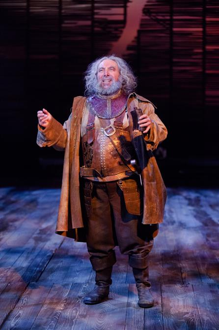 Antony Sher as Falstaff in Gregory Doran's 2014 production of Henry IV Part I