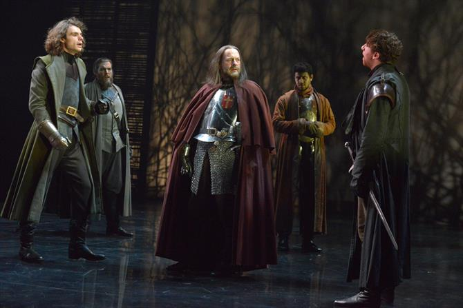 The cast of Henry IV Part II. Photo by Keith Pattison.