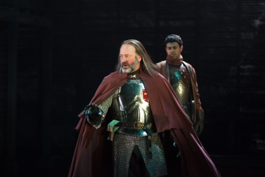 Keith Osborn as Archbishop of York in Henry IV Part II