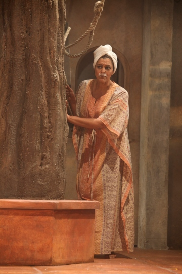 Meera Syal as Beatrice in Much Ado About Nothing