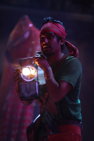 Rudi Dharmalingam as George Seacole in Much Ado About Nothing.