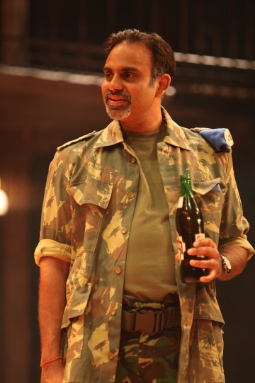 Neil D'Souza as Conrade in Much Ado About Nothing.