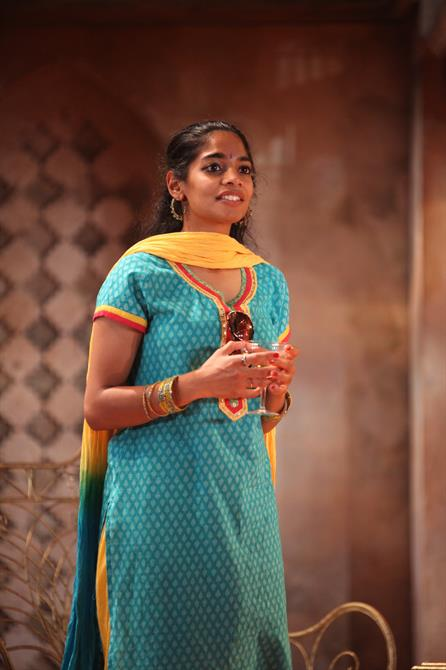 Amara Karan as Hero in Much Ado About Nothing.