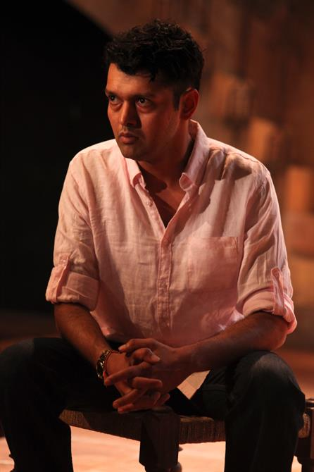 Sagar Arya as Claudio in Much Ado About Nothing