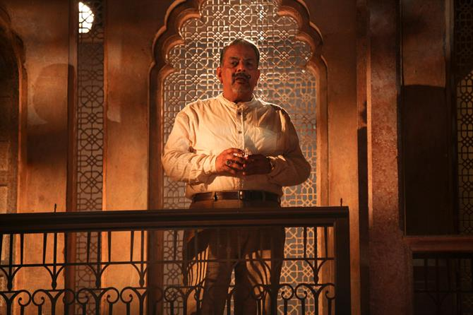Madhav Sharma as Leonato in Much Ado About Nothing.