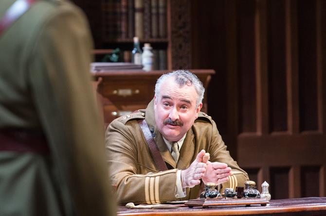 John Hodgkinson as Prince Don Pedro in Love's Labour's Won