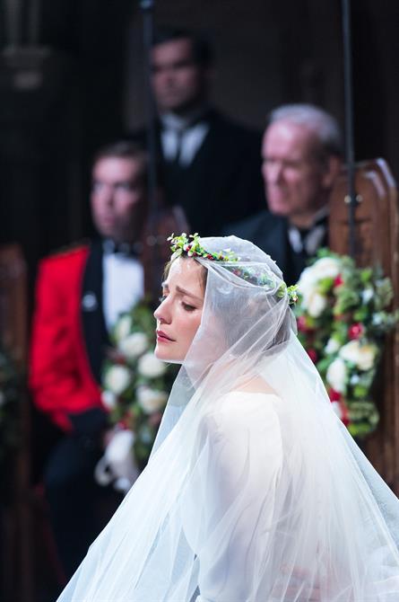 Flora Spencer-Longhurst as Hero in Love's Labour's Won.