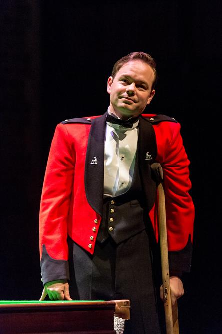 Sam Alexander as Don John in Love's Labour's Won.