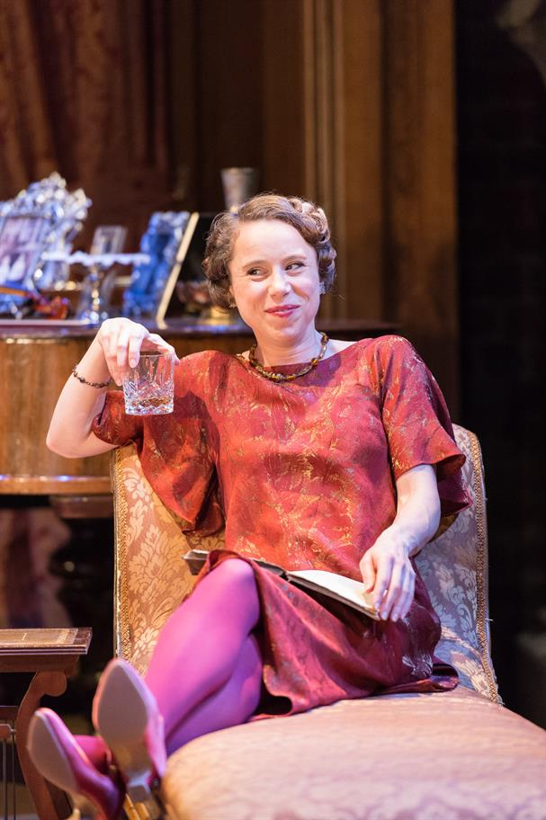 Michelle Terry as Beatrice in Love's Labour's Won.