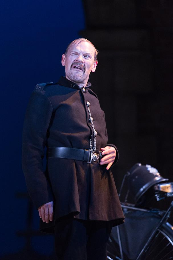Nick Haverson as Dogberry in Love's Labour's Won (Much Ado About Nothing) 2014