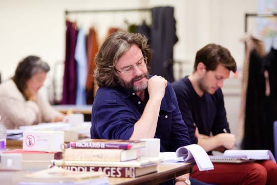 Gregory Doran in rehearsals for Richard II