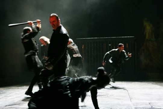 Fight breaks out on the street between the Capulets and the Montagues.