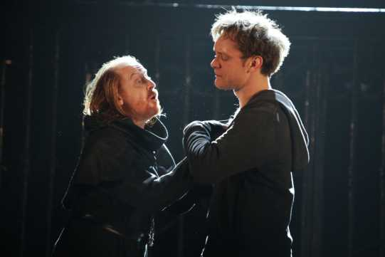 Romeo urges Friar Lawrence to marry him to Juliet.