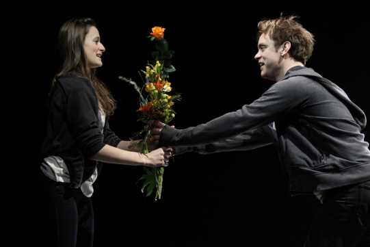 Romeo and Juliet are married in secret by Friar Lawrence.