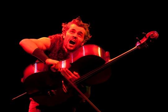 Marcello Walton hugs a cello to his chest