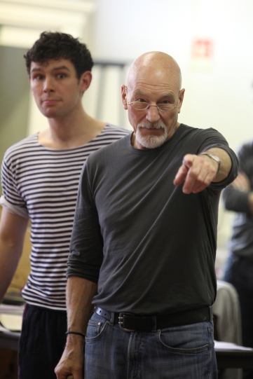 The Merchant of Venice in Rehearsal.