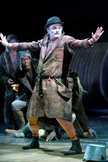 Michael Hodgson dancing as Manny in The Mouse and his Child.