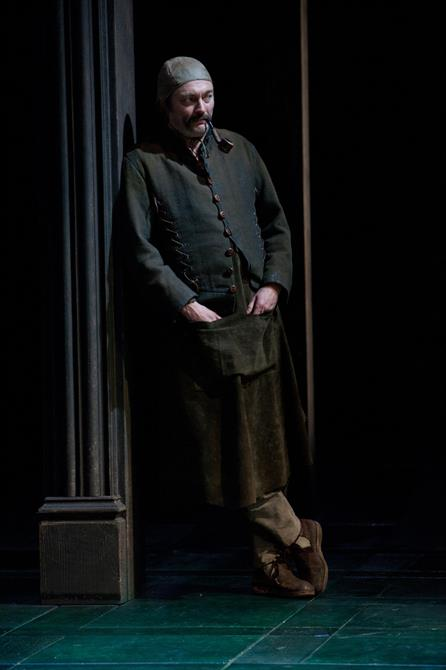 Production image of Michael Hodgson as Hodge.