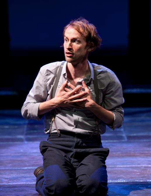 Mark Arends as Proteus in The Two Gentlemen of Verona 2014