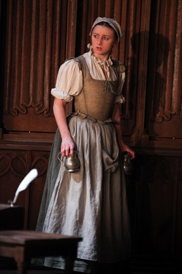 Jodie McNee as Mary Currer in Written on the Heart.