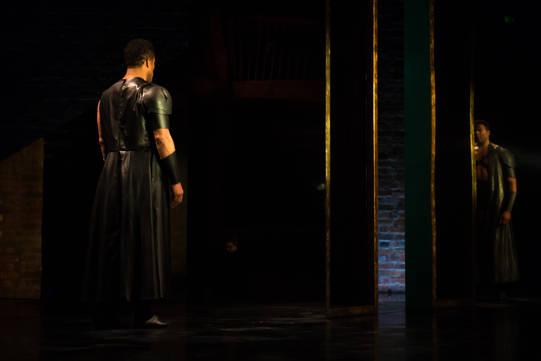 Ray Fearon as Agamemnon in Hecuba.