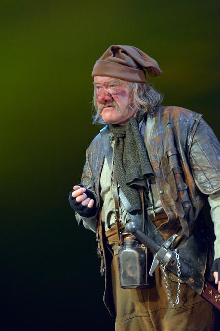 Joshua Richards as Bardolph in Henry V