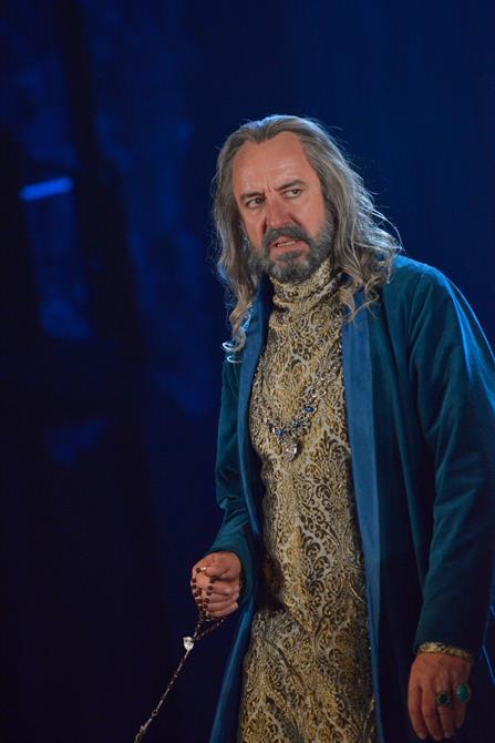 Simon Thorp as King of France in Henry V.