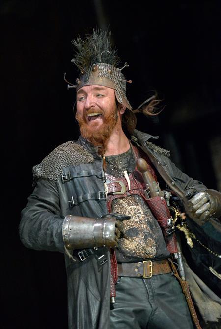 Antony Byrne as Pistol in Henry V