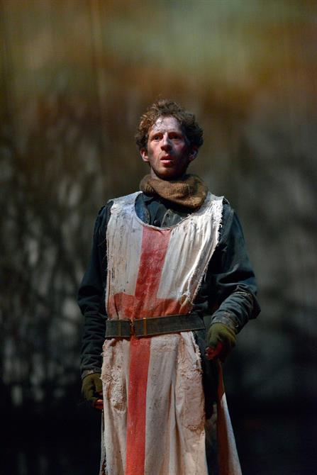 Martin Bassindale as Boy in Henry V.