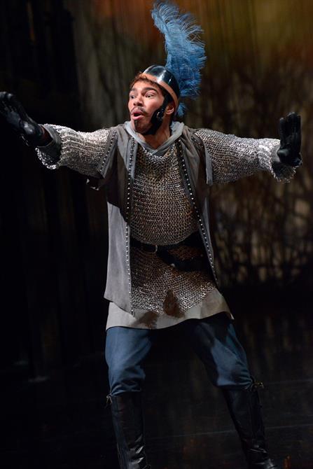 Daniel Abbott as Monsieur Le Fer in Henry V.