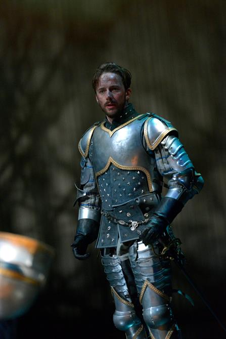 Sam Marks as Constable of France in Henry V.