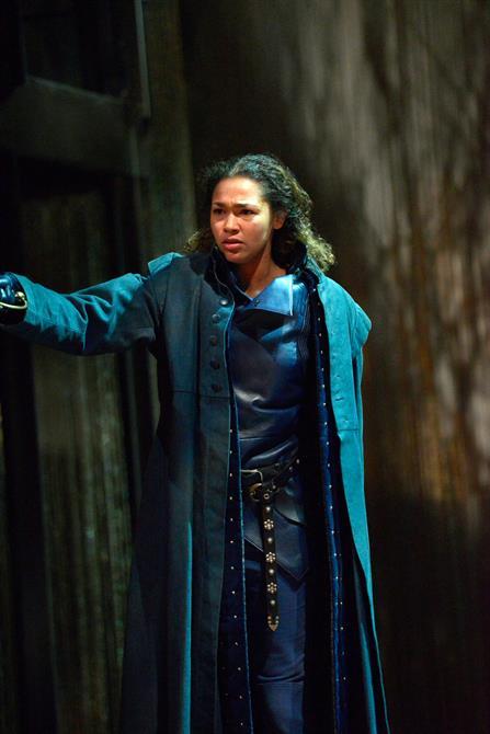 Evelyn Miller as Rambures in Henry V.